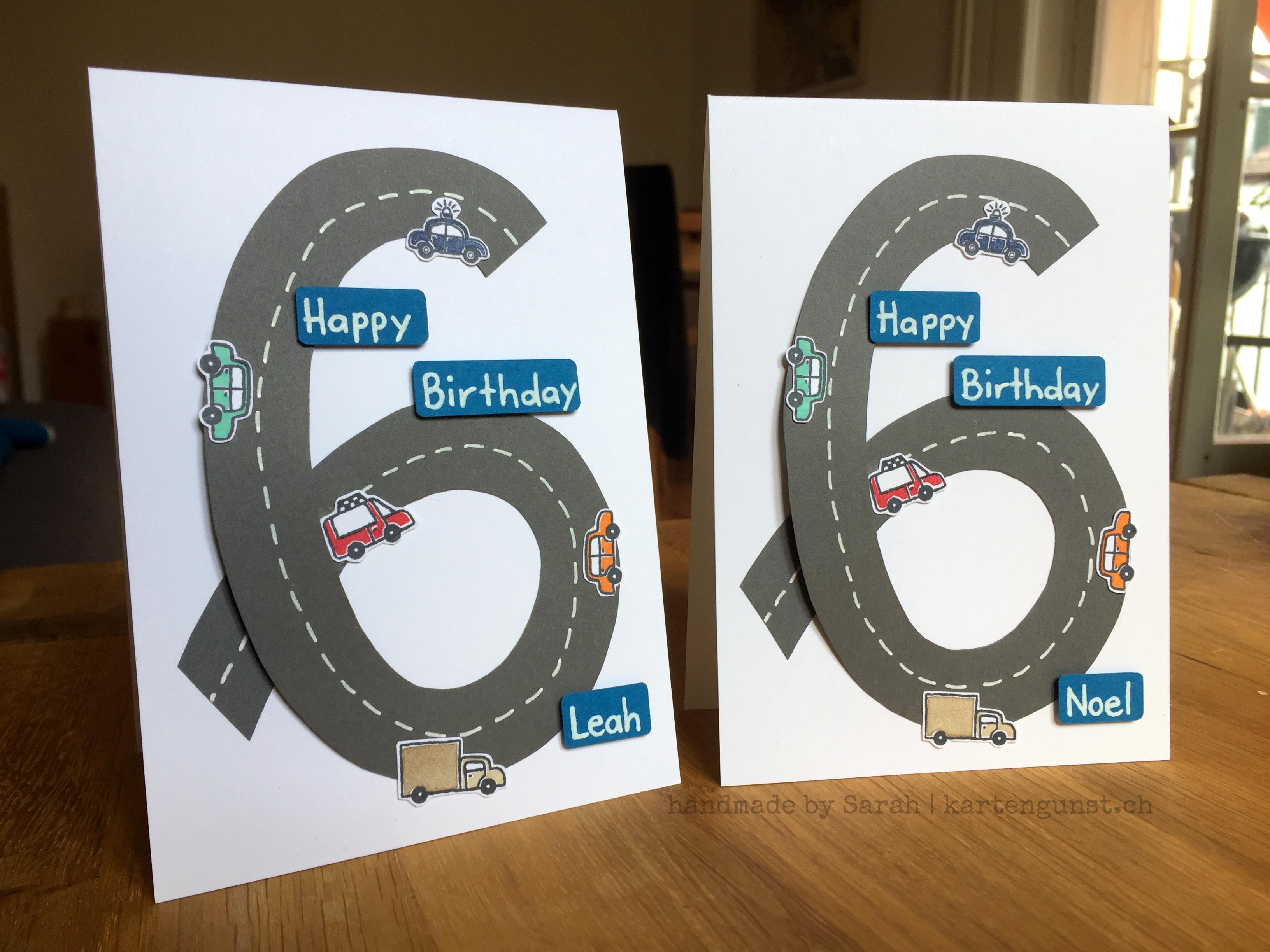 Karten zum 3. Geburtstag  Kartengunst